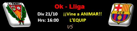 Partit Ok-Lliga - 3a jornada